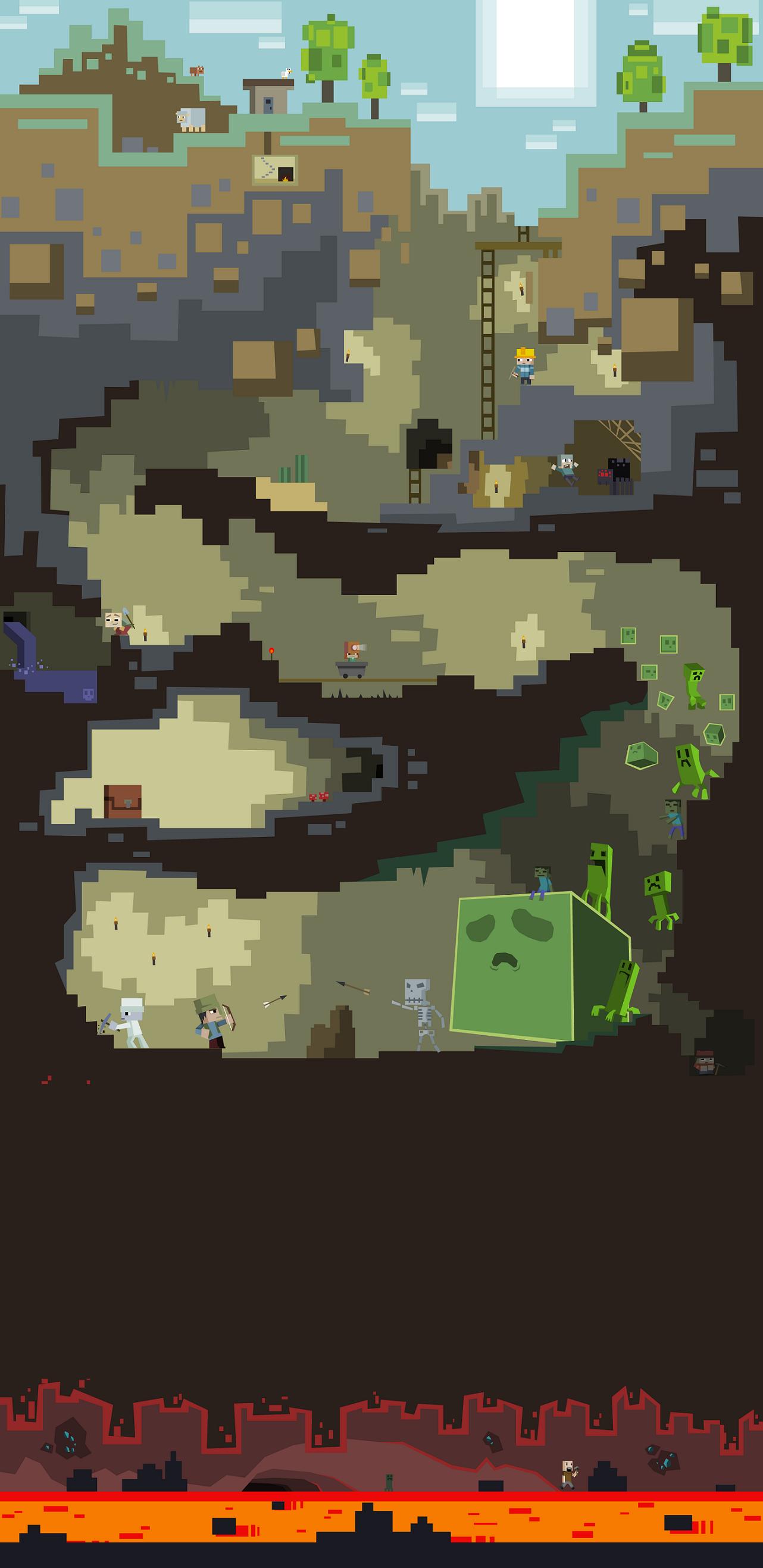 Дизайн для сайта minecraft